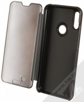 Vennus Clear View flipové pouzdro pro Huawei Y6 Prime (2019), Y6s, Honor 8A černá (black) otevřené