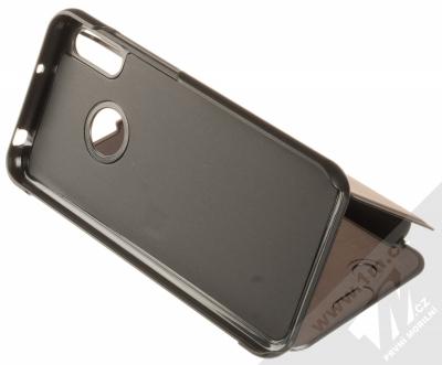 Vennus Clear View flipové pouzdro pro Huawei Y6 Prime (2019), Y6s, Honor 8A černá (black) stojánek