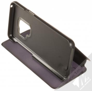 Vennus Clear View flipové pouzdro pro Samsung Galaxy S9 černá (black) stojánek