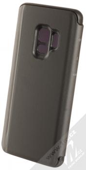 Vennus Clear View flipové pouzdro pro Samsung Galaxy S9 černá (black) zezadu