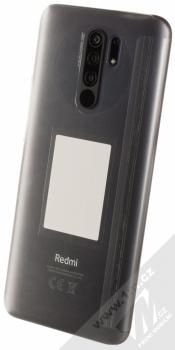 Xiaomi Redmi 9 3GB/32GB s NFC šedá (carbon grey) šikmo zezadu