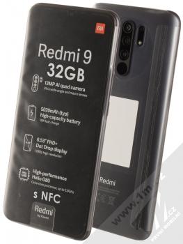 Xiaomi Redmi 9 3GB/32GB s NFC šedá (carbon grey)