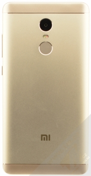 XIAOMI REDMI NOTE 4 4GB/64GB Global Version CZ LTE zlatá (gold) zezadu