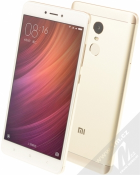 XIAOMI REDMI NOTE 4 4GB/64GB Global Version CZ LTE zlatá (gold)