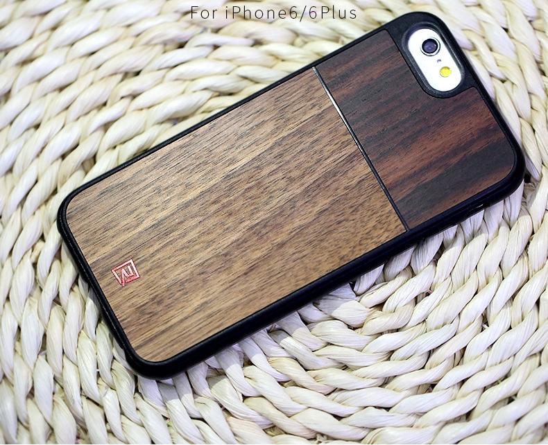 Remax Tanyet Wallnut dřevěný ochranný kryt pro Apple iPhone 6 ... a9726164461