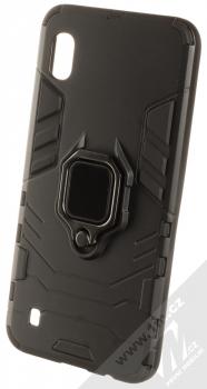 1Mcz Armor Ring odolný ochranný kryt s držákem na prst pro Samsung Galaxy A10 černá (black)