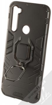 1Mcz Armor Ring odolný ochranný kryt s držákem na prst pro Xiaomi Redmi Note 8T černá (black) držák