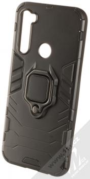 1Mcz Armor Ring odolný ochranný kryt s držákem na prst pro Xiaomi Redmi Note 8T černá (black)