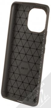 1Mcz Carbon TPU ochranný kryt pro Xiaomi Mi 11 černá (black) zepředu