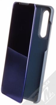 1Mcz Clear View flipové pouzdro pro Huawei P30 modrá (blue)