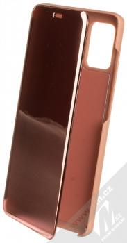 1Mcz Clear View flipové pouzdro pro Samsung Galaxy A31, Galaxy A51, Galaxy A51 5G růžová (pink)
