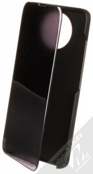 1Mcz Clear View flipové pouzdro pro Xiaomi Redmi Note 9T černá (black)