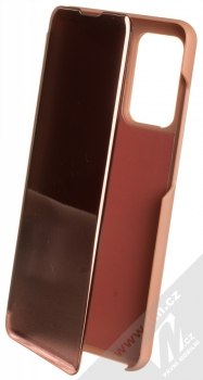 1Mcz Clear View flipové pouzdro pro Samsung Galaxy A52, Galaxy A52 5G, Galaxy A52s 5G růžová (pink)