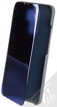1Mcz Clear View flipové pouzdro pro Xiaomi Redmi 9 modrá (blue)