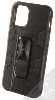 1Mcz Defender Stand odolný ochranný kryt se stojánkem pro Apple iPhone 12 mini černá (black)