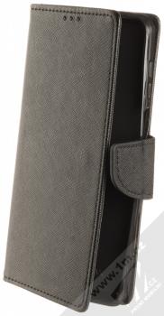 1Mcz Fancy Book flipové pouzdro pro Xiaomi Redmi Note 9 Pro, Redmi Note 9 Pro Max, Redmi Note 9S černá (black)