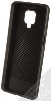 1Mcz Glass Cover ochranný kryt pro Xiaomi Redmi Note 9 Pro, Redmi Note 9 Pro Max, Redmi Note 9S černá (black) zepředu
