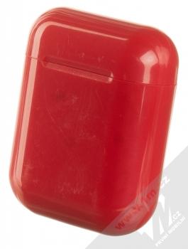 1Mcz i12 inPods Simple Glossy TWS Bluetooth stereo sluchátka červená (red) nabíjecí pouzdro