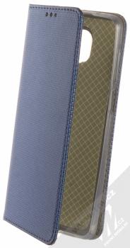 1Mcz Magnet Book Alternativní flipové pouzdro pro Xiaomi Redmi Note 9 Pro, Redmi Note 9 Pro Max, Redmi Note 9S tmavě modrá (dark blue)