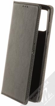 1Mcz Magnet Book Color flipové pouzdro pro Motorola Moto G100 černá (black)