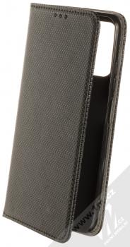 1Mcz Magnet Book Color flipové pouzdro pro Xiaomi Redmi Note 10 5G, Poco M3 Pro černá (black)