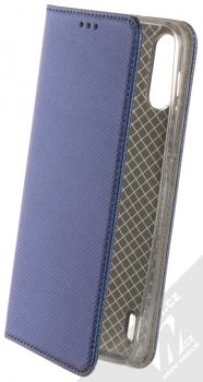 1Mcz Magnet Book flipové pouzdro pro Motorola Moto E7 Power tmavě modrá (dark blue)