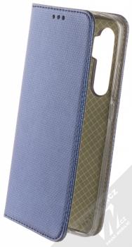 1Mcz Magnet Book flipové pouzdro pro Xiaomi Mi Note 10 Lite tmavě modrá (dark blue)