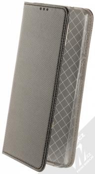 1Mcz Magnet Book flipové pouzdro pro Xiaomi Redmi Note 9 Pro, Redmi Note 9 Pro Max, Redmi Note 9S černá (black)