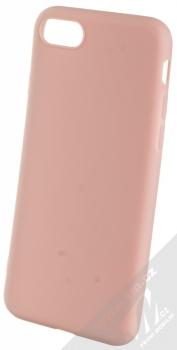 1Mcz Matt TPU ochranný kryt pro Apple iPhone 7, iPhone 8, iPhone SE (2020) světle růžová (powder pink)
