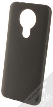 1Mcz Matt TPU ochranný silikonový kryt pro Nokia 3.4 černá (black)