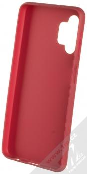 1Mcz Matt TPU ochranný kryt pro Samsung Galaxy A32 5G tmavě červená (dark red) zepředu