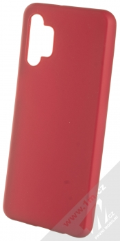 1Mcz Matt TPU ochranný kryt pro Samsung Galaxy A32 5G tmavě červená (dark red)