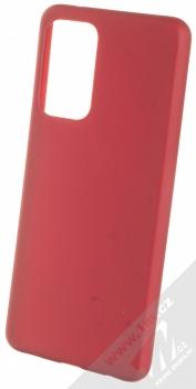 1Mcz Matt TPU ochranný kryt pro Samsung Galaxy A52, Galaxy A52 5G tmavě červená (dark red)