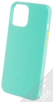 1Mcz Solid TPU ochranný kryt pro Apple iPhone 12 Pro Max mátově zelená (mint green)