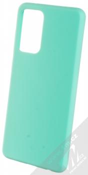 1Mcz Solid TPU ochranný kryt pro Samsung Galaxy A72, Galaxy A72 5G mátově zelená (mint green)