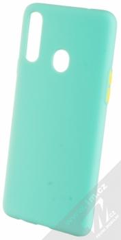 1Mcz Solid TPU ochranný kryt pro Samsung Galaxy A20s mátově zelená (mint green)