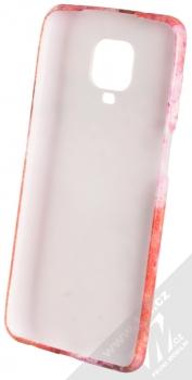 1Mcz Trendy Rubín TPU ochranný kryt pro Xiaomi Redmi Note 9 Pro, Redmi Note 9 Pro Max, Redmi Note 9S červená růžová (red pink) zepředu