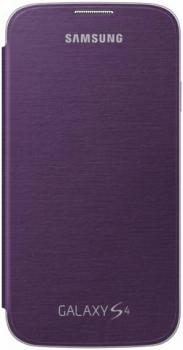 Samsung EF-FI950BV originální otvírací pouzdro pro Samsung i9500 Galaxy S IV, i9505 Galaxy S4, i9506 Galaxy S4 LTE-A fialová (violet)
