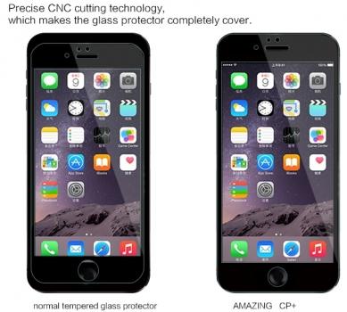 Nillkin Amazing CP+ ochranná fólie z tvrzeného skla proti prasknutí pro Apple iPhone 6 Plus přesnost