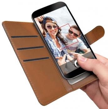 Celly Wally Unica L univerzální flipové pouzdro pro mobilní telefon, mobil, smartphone