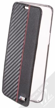 BMW M Carbon Vertical flipové pouzdro pro Samsung Galaxy S9 (BMBKTRS9CAPRBK) černá (black)
