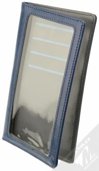 CellularLine Touch Wallet univerzální pouzdro s peněženkou pro mobilní telefon, mobil, smartphone modrá (dark blue)