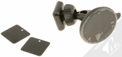 Celly Ghost Dash magnetický univerzální držák do auta s přísavkou černá (black) balení