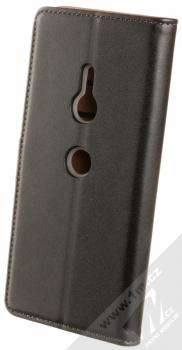 Celly Wally flipové pouzdro pro Sony Xperia XZ3 černá (black) zezadu