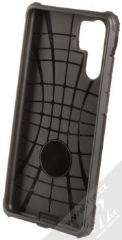 Forcell Armor odolný ochranný kryt pro Huawei P30 Pro černá (all black) zepředu