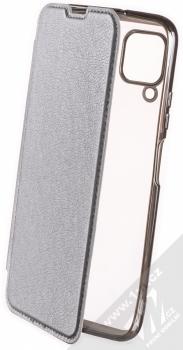 Forcell Electro Book flipové pouzdro pro Huawei P40 Lite stříbrná (silver)