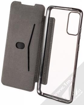 Forcell Electro Book flipové pouzdro pro Samsung Galaxy S20 Plus černá (black) otevřené