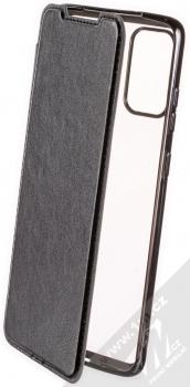 Forcell Electro Book flipové pouzdro pro Samsung Galaxy S20 Plus černá (black)