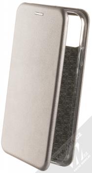 Forcell Elegance Book flipové pouzdro pro Apple iPhone 11 kovově šedá (steel)