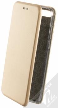 Forcell Elegance Book flipové pouzdro pro Huawei Y6 Prime (2018), Honor 7A zlatá (gold)